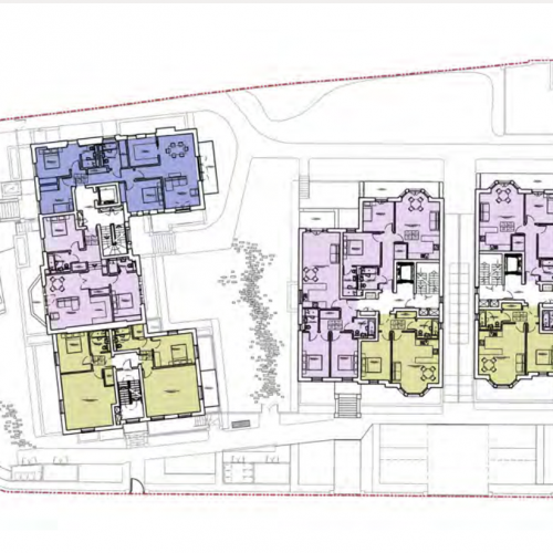 Newlands House, Surbiton - First Floor Plan
