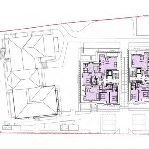 Newlands House, Surbiton - Third Floor Plan