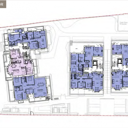 Newlands House, Surbiton - Lower Ground Floor Plan